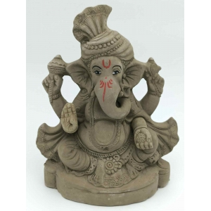 Eco-Friendly Ganesh Idols 21 cm