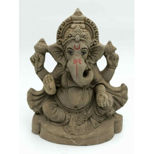 Eco Friendly ganesh ji murti /idols 21 cm