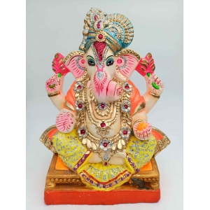 Eco Friendly Color full  Ganesha  29 Inches