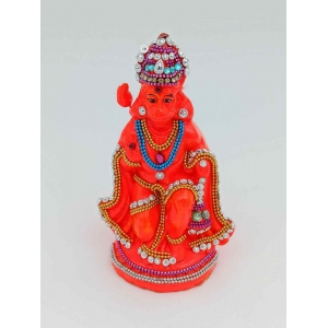 hanuman ji murti/ idol 14 cm eco friendly