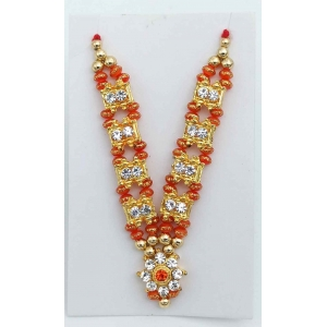 Laddu gopal moti haar / Necklace size 2,3,4,5