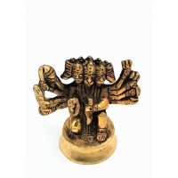 5 Mukhi Hanuman Antique  murti